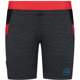 La Sportiva Circuit Spodnie krótkie Kobiety, black/hibiscus